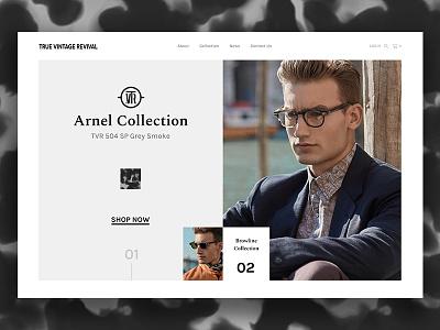 True Vintage Revival, TVR® minimalist glasses specs eyewear vintage