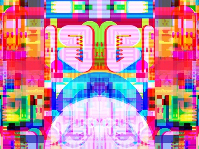 Overwarming Opal Batholith identity connectivity dreams dribbble geometric glitchart graphicdesign reality illusion kanji metaphysics multiverse symbols magic letters typography collage bigboldcolor illustration
