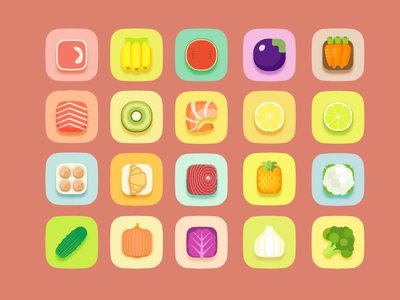Food Icons icons foods