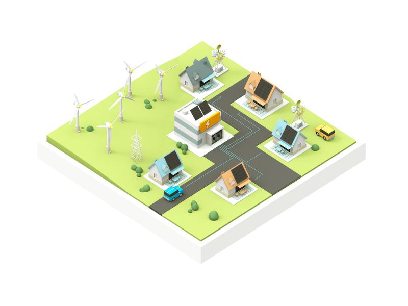 Energysharing decentralization blockchain energy solution green energy smart city energy
