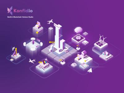 Konfid.io Enterprise enterprise konfid.io design berlin blockchain