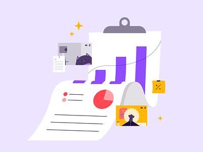 The youth economy report branding illustrator vector character design adobe design illustration