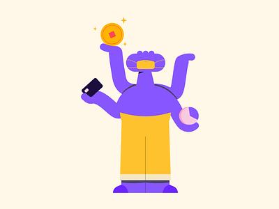 The youth economy report #2 branding illustrator vector character design adobe design illustration
