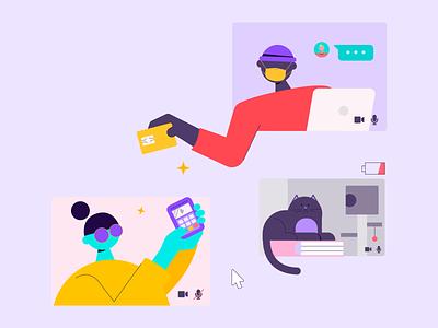 The youth economy report #8 illustrator vector character design adobe design illustration
