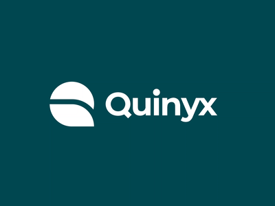 Quinyx logo animation reveal logo design design logo branding animation motion design most most studios logo animation logotype logodesign