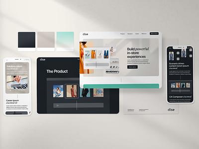 Branding & Web product product design webb minimalistic startup flat flatlay ui design ux ui brand identity most identity most studios branding