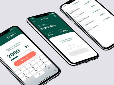 App design utility design salary my app designer payment ux ui app design