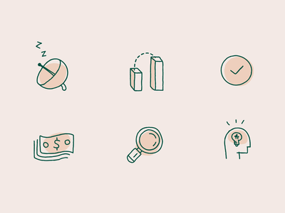 Icon design for upcoming app icons design iconset icon animation vector branding illustration abstract icons design