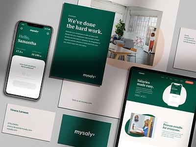 Branding for Swedish startup design friendly identity brand identity serif serif typeface green branding