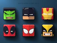 Super Hero Icons: Vol 1