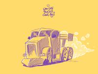 Random Sketch: Land Speed Big Rig