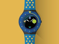 History of Swatch \ Flat Design