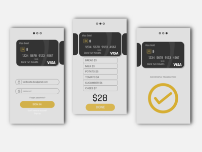 Daily UI 001 - Credit Card checkout
