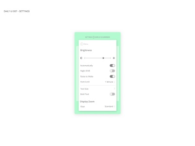 Settings screen figmadesign figma sketch web design vector flat icon ux app dailyui daily 100 challenge ui daily 100