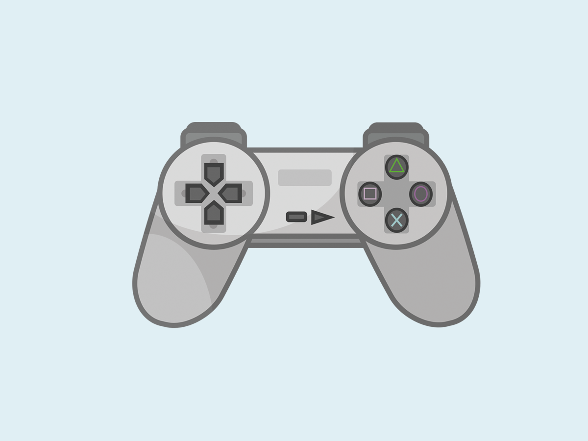 Playstation Controller By Torna On Dribbble