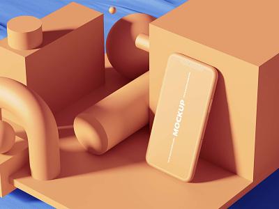 3D Mockups Free PSD scene creator showcase 3d mockup freebies
