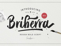 Free* Briberra – Rough Bold Script (Demo)