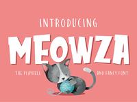 Meowza Display Font (Free Edition)
