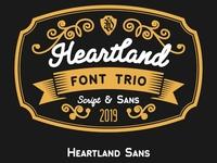 Heartland Font (Free Sample)