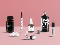 Cosmetic Bottles Samples