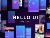 Hello UI Kit (Free Sample)