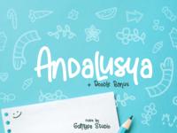Andalusya Script Font