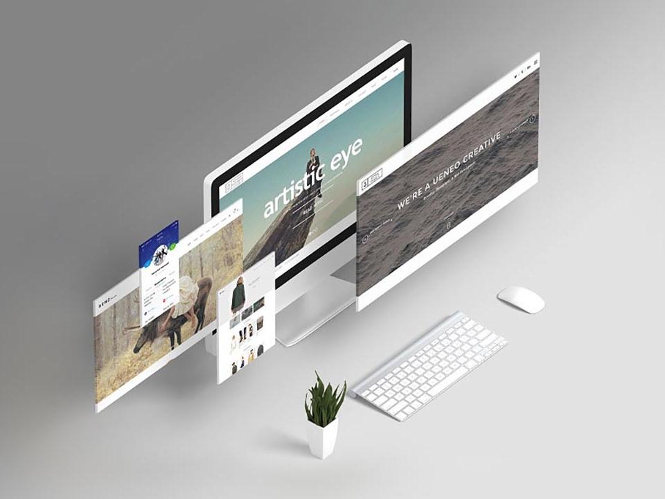 Web Presentation Mock-Ups web showcase web mockup screen mockup