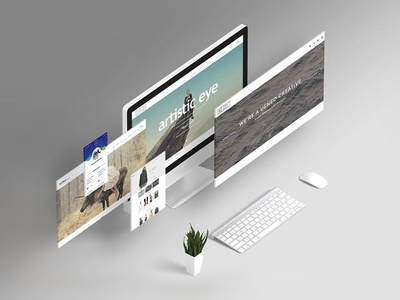 Web Presentation Mock-Ups