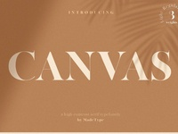 Free* Canvas Font
