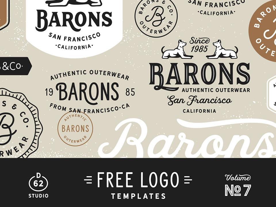 Free Logo Templates design freebies logo
