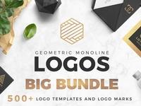 Geometric Logos Set Sample