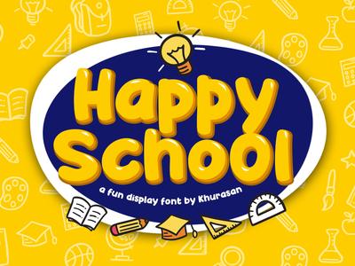 Happy School Font Demo