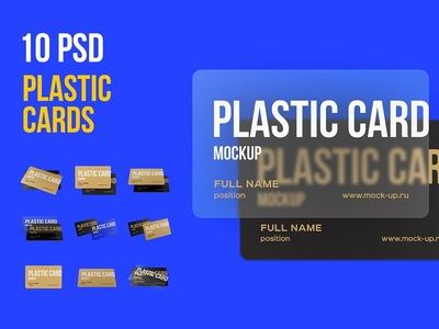 Plastic Card Mockup Sample
