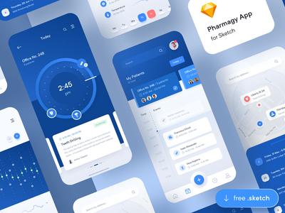 Pharmagy Medical App UI Sample