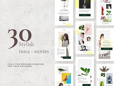 Stylish Instagram Stories Pack