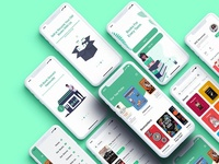 Bookstore XD UI Kit