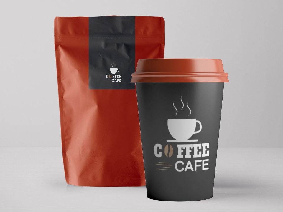 Coffee Packaging Free PSD coffeeshop coffee mug branding mockup freebies