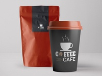 Coffee Packaging Free PSD