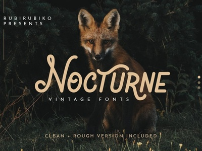 Nocturne – Vintage Fonts Sample
