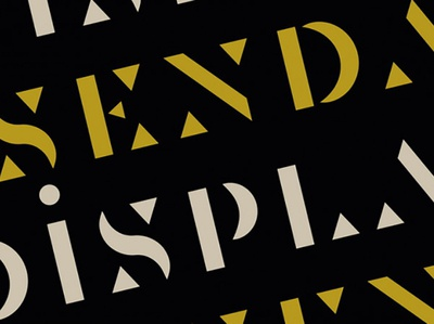 Senda Typeface