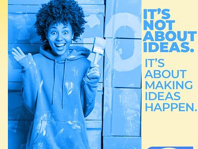 You got a new Idea? Contact Us seo design website design branding graphic design