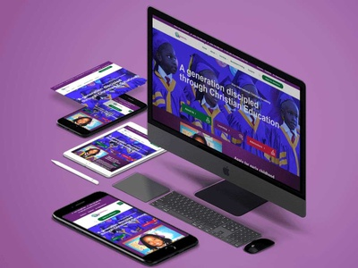 A school website app illustration graphic design logo vector design branding
