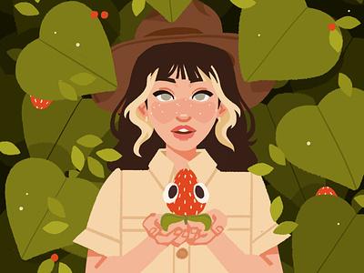 Bugsnax art portrait digital art digital illustration illustration