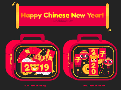 Chinese New Year Lunchboxes