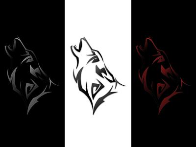 Wolf Logo vectorsketch tattoo wolflogo logo wolf