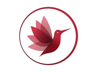 Hummingbird Logo bird birdlogo gradientlogo logo hummingbird