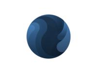 Logo Exploration Blue Style