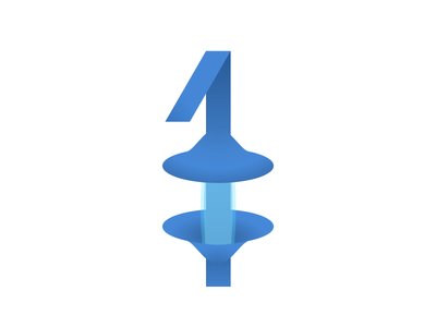 1 redesign 1 numericlogo logo numbers