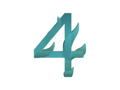 4 redesign 4 numericlogo logo numbers