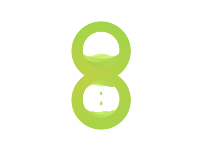 8 typography 8 numbers numericlogo logo